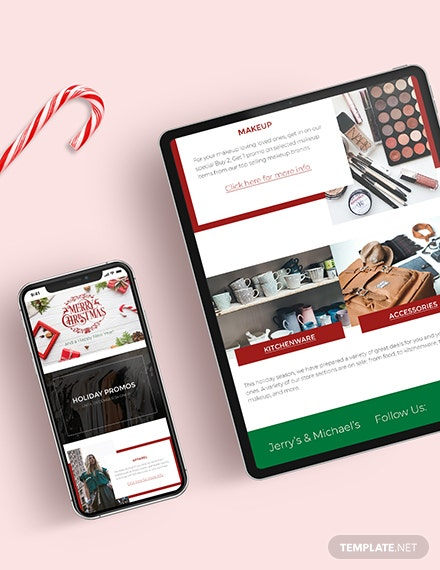 Christmas Email Newsletter Download