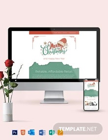 Christmas Sale Newsletter Template