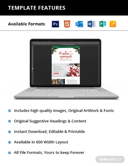 Christmas Newsletter Printable