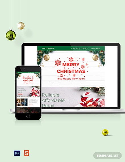 christmas newsletter template 1