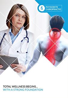Free Chiropractic Bi-Fold Brochure Template