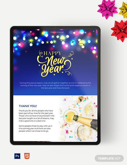 holiday newsletter template 1