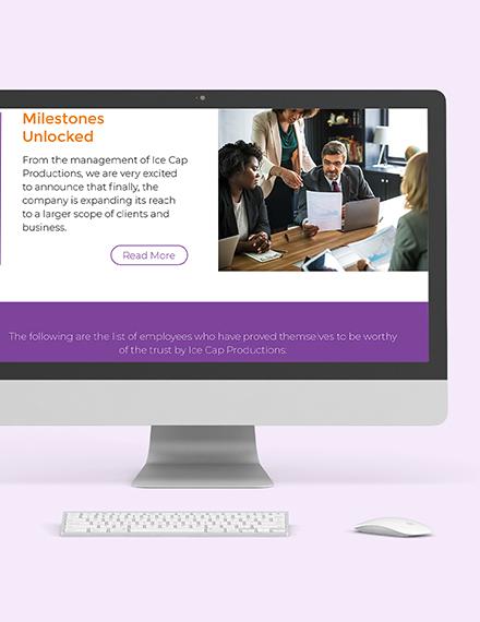 Internal Employee Newsletter Download