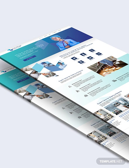 Sample Medical Clinic PSD Landing Page