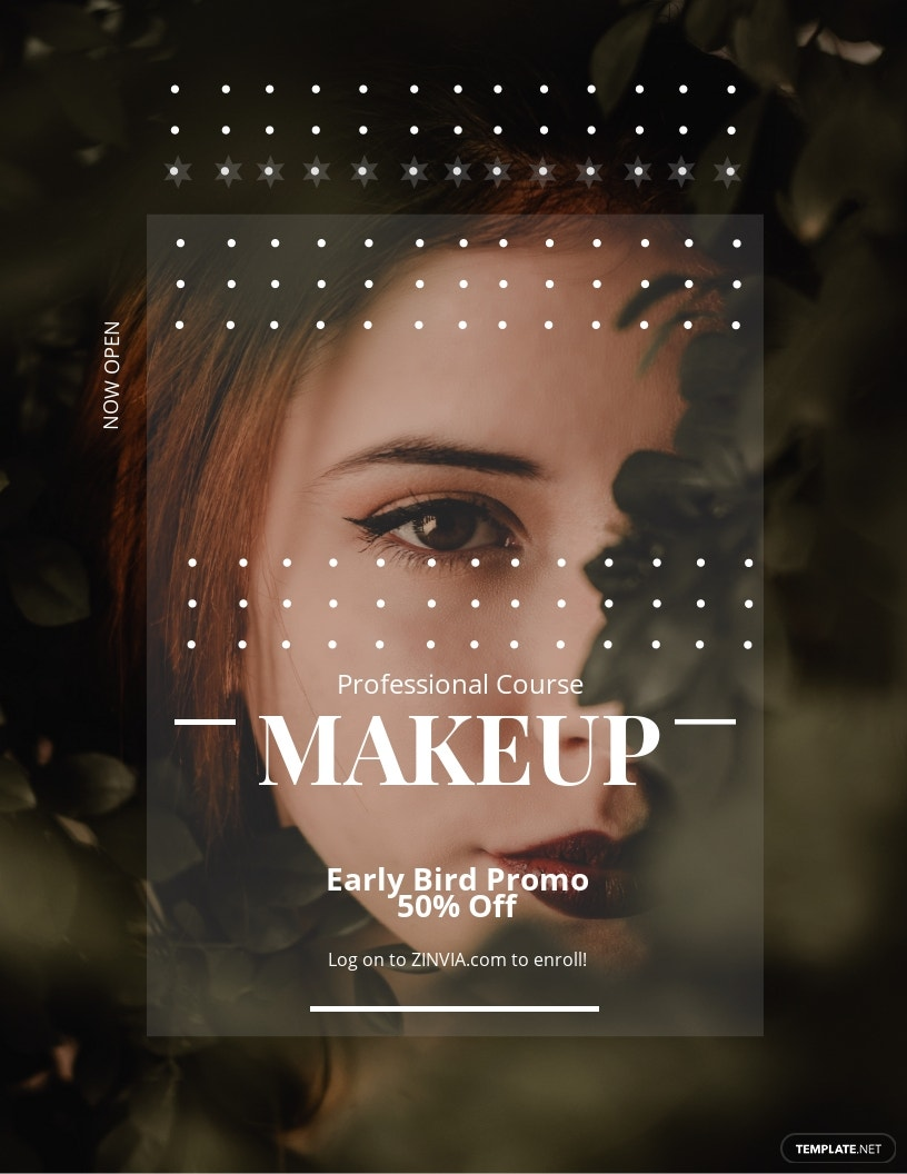 Make up Artist Flyer Template