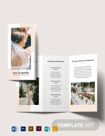 Fall Wedding Brochure Template