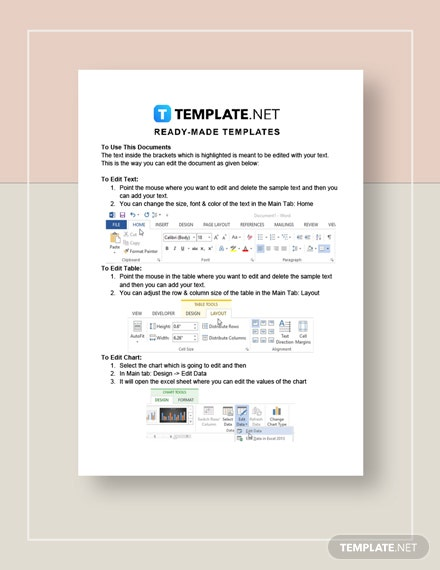 Non Profit Sheet Template [Free PDF] - Google Docs, Word, Apple Pages