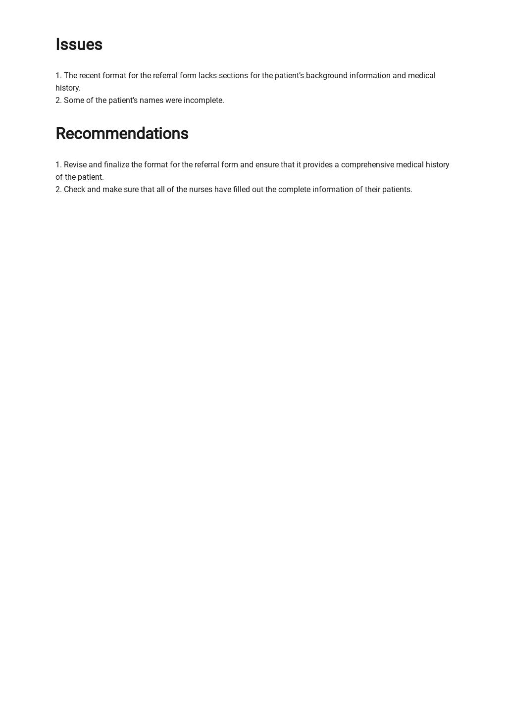 Nursing Report Sheet Template 2.jpe