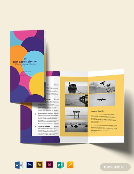 Photography Business Brochure Template