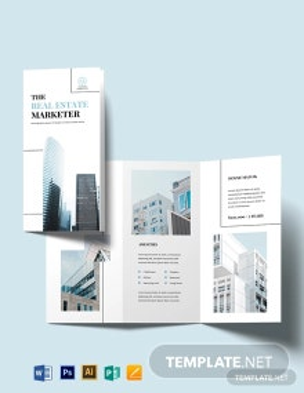 Real Estate Marketing Brochure Template