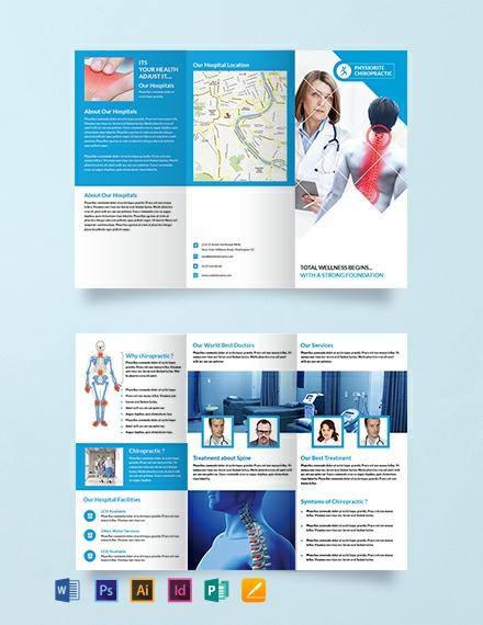 Free Chiropractic Tri Fold Brochure Template