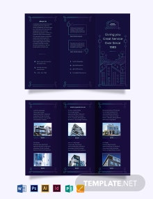 For Sale by Owner Tri-Fold Brochure Template