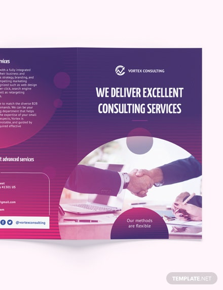 Download Consulting Services BiFold Brochure