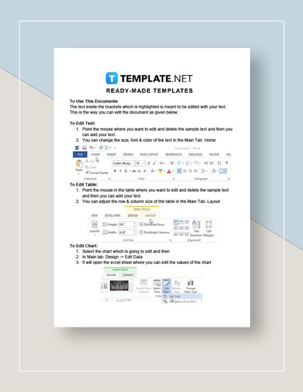 Task Sheet Instructions