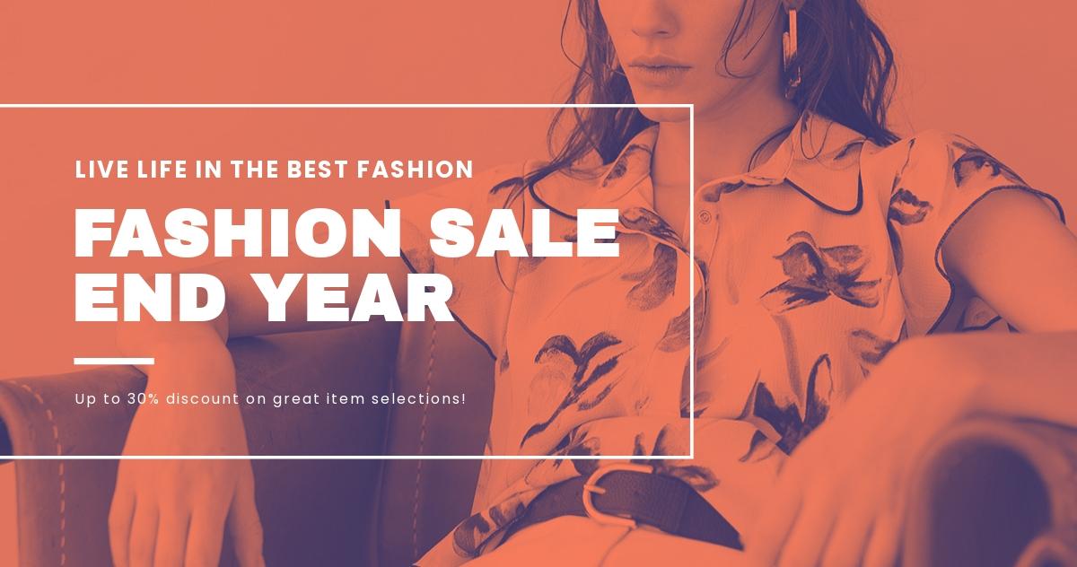 Minimalistic Fashion Sale Blog Post Template.jpe