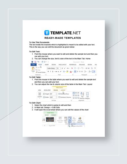 Bar Graph Worksheet Instructions