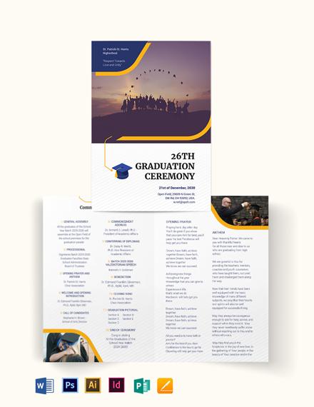 Graduation BiFold Brochure
