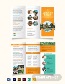 Holiday Tri-Fold Brochure Template