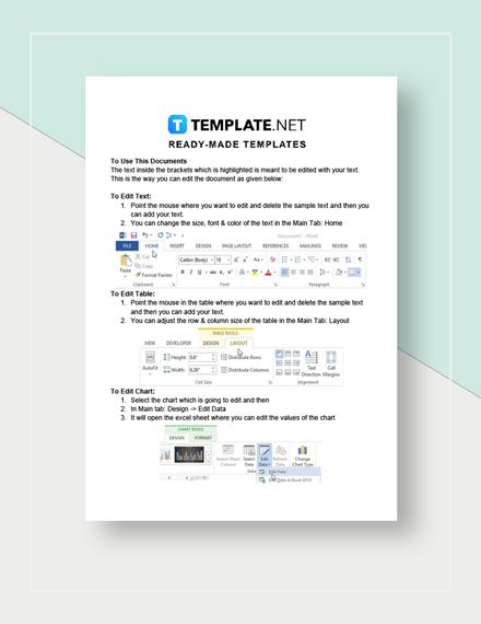 CV Fax Cover Sheet Instructions