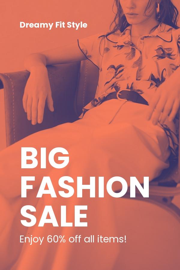 Free Minimalistic Fashion Sale Pinterest Pin Template.jpe