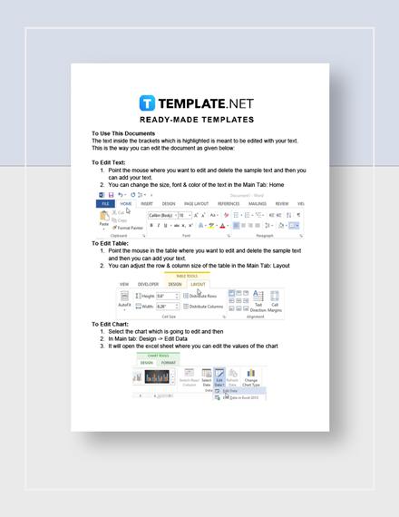 Evaluation Sheet Instructions