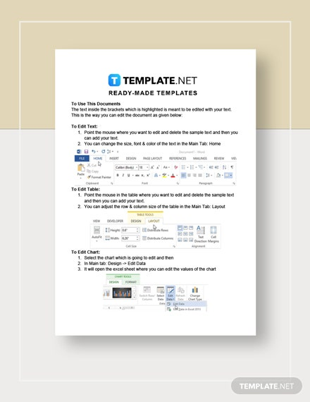 Monthly Budget Worksheet  Instructions