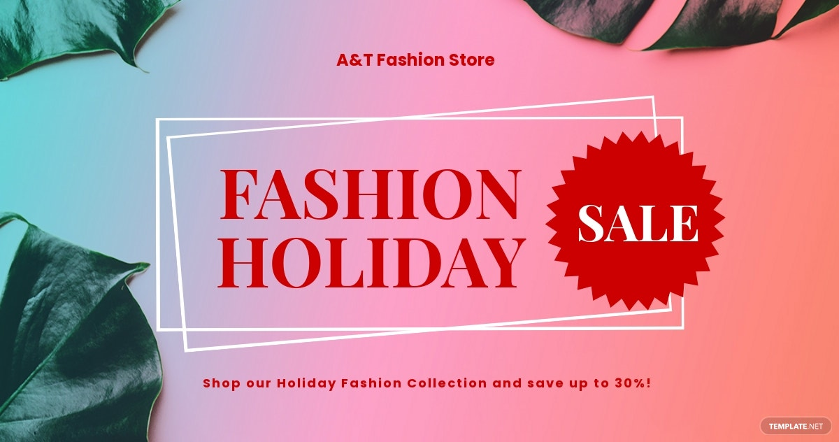 Free Basic Fashion Sale Facebook Post Template.jpe