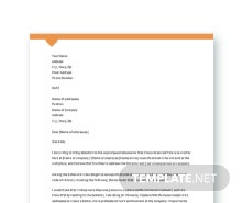 Free Complaint Letter for Unprofessional Behavior Template