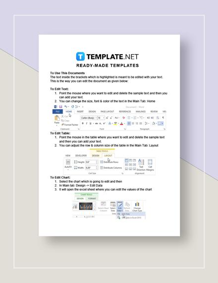 Loan Spreadsheet Instructions