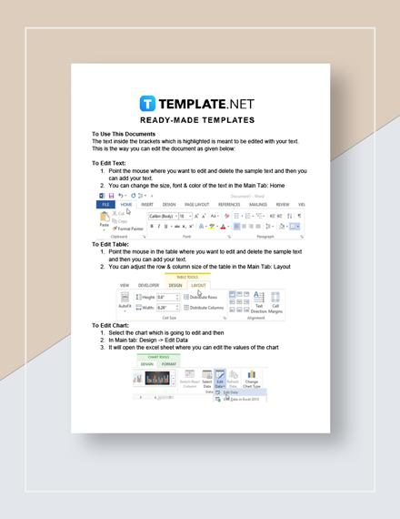 Stock Spreadsheet Instructions