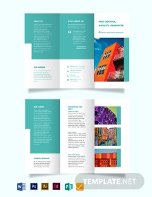 Rental Broker Tri-Fold Brochure Template