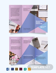Residential Real Estate Agent/Agency Tri-Fold Brochure Template