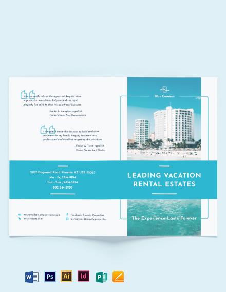Vacation Rental Management BiFold Brochure