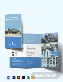 Real Estate Community Tri-Fold Brochure Template