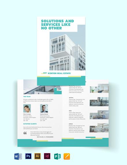 Subdivision Bi-Fold Brochure Template