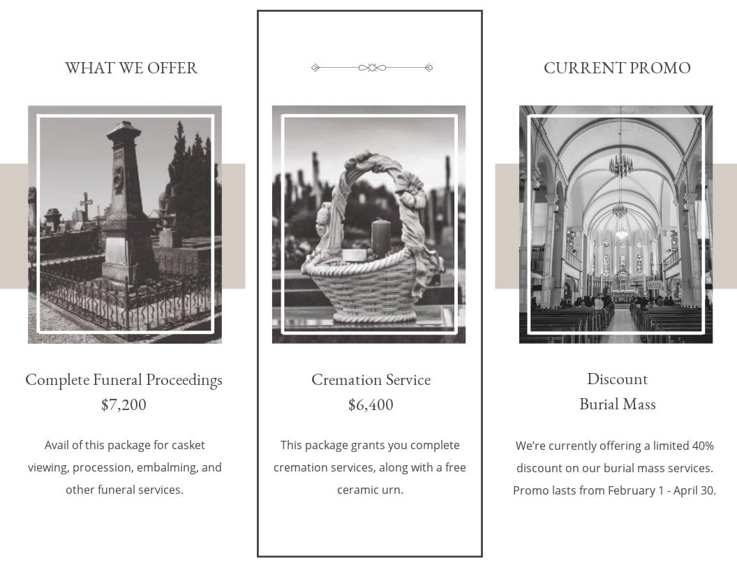 Blank Funeral Mass Tri Fold Brochure Template 1.jpe