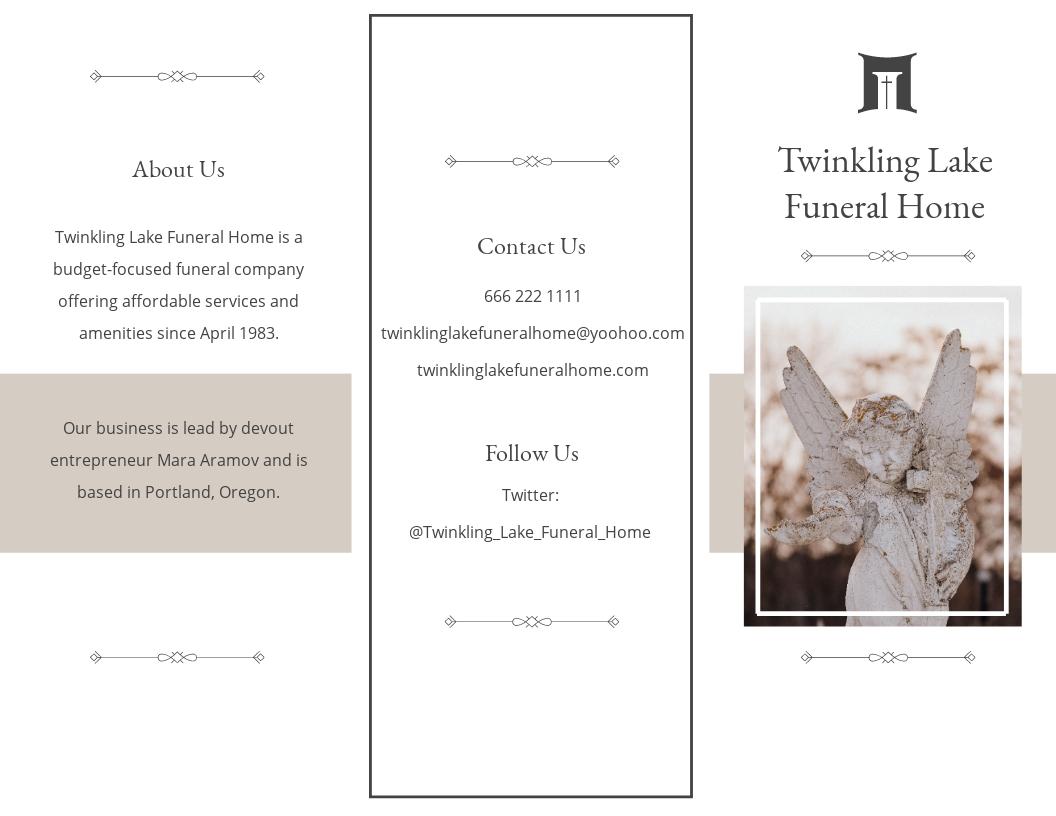 Blank Funeral Mass Tri Fold Brochure Template.jpe