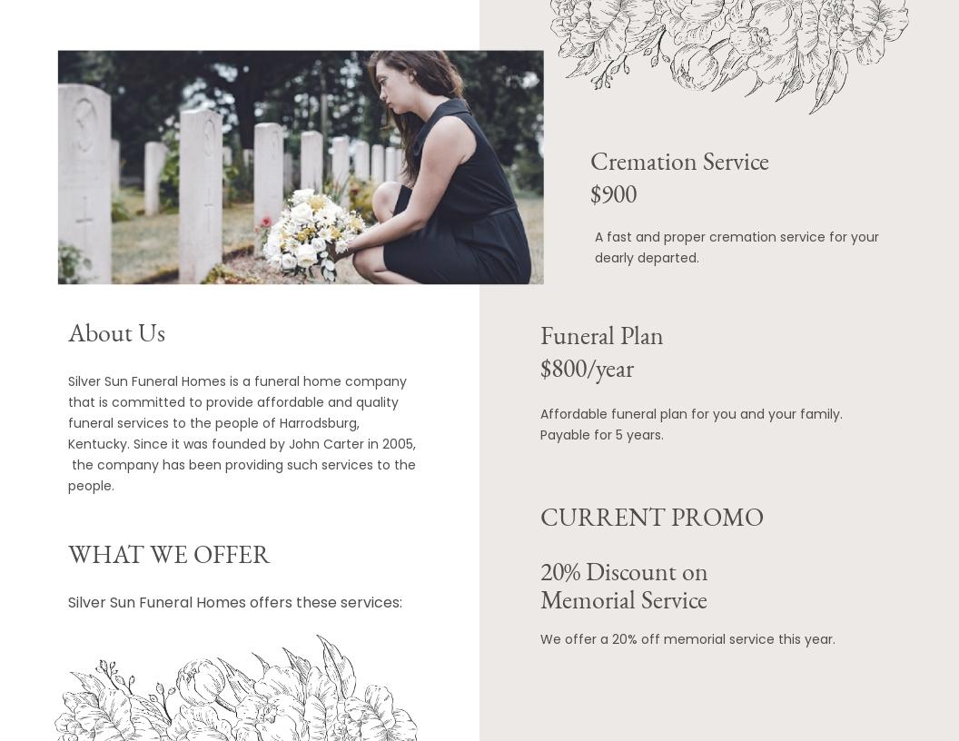 Ceremony Cremation Funeral Bi Fold Brochure Template 1.jpe