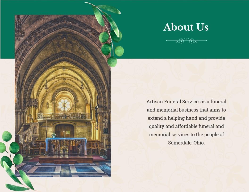 Booklet Funeral Obituary Brochure Template 1.jpe