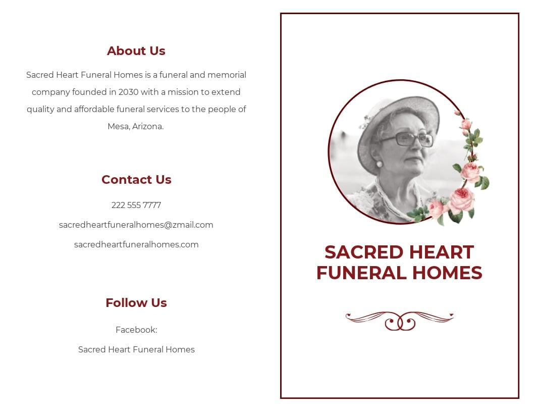 Church Eulogy Funeral Bi Fold Brochure Template.jpe