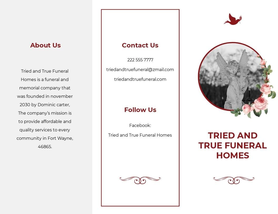 Church Eulogy Funeral Tri Fold Brochure Template.jpe