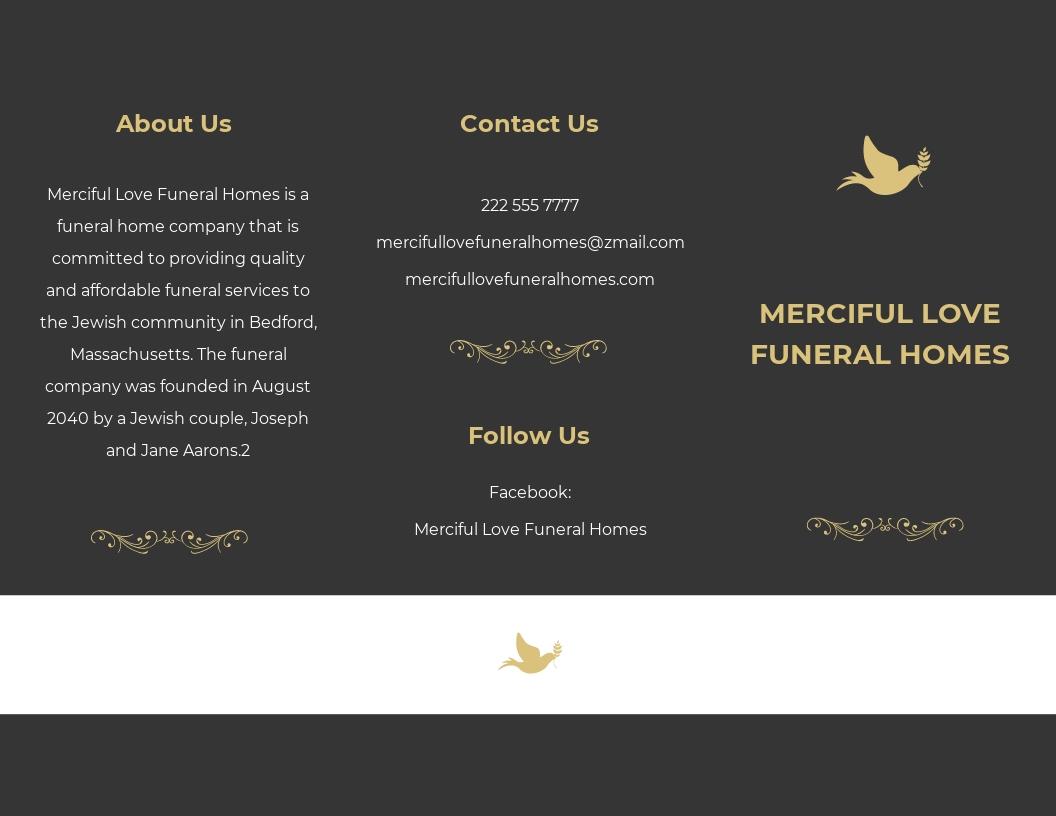 Jewish Eulogy Funeral Tri Fold Brochure Template.jpe