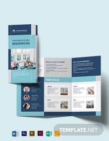 Certified Home Inspector Tri-Fold Brochure Template