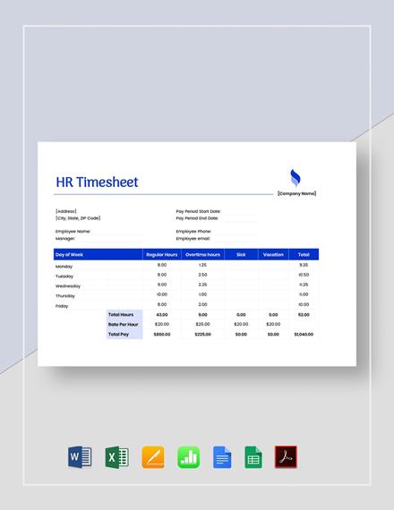 HR Timesheet