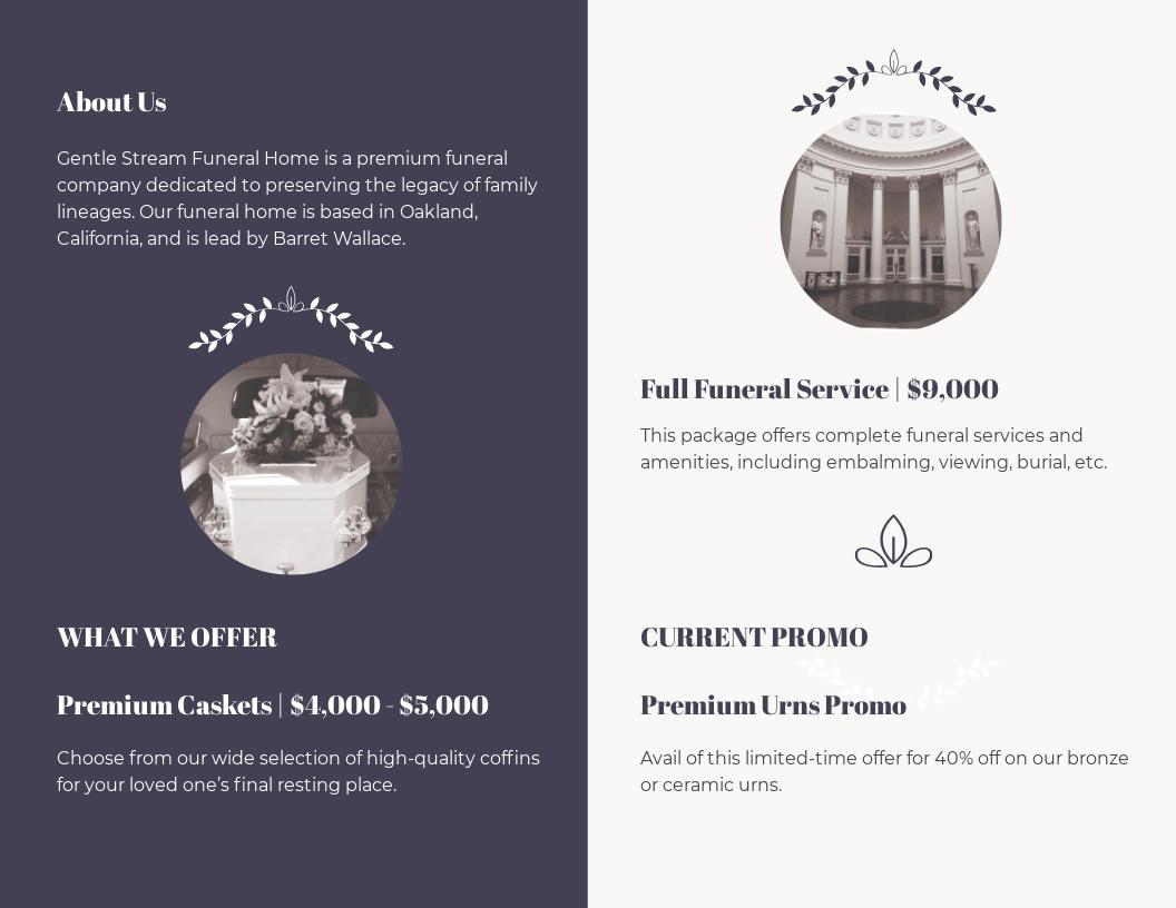 Legacy Funeral Service Bi Fold Brochure Template 1.jpe