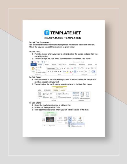 Stat Sheet Instructions