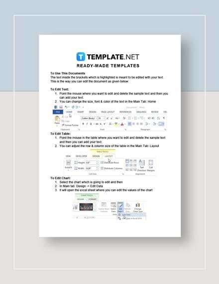 Common Score Sheet Instructions