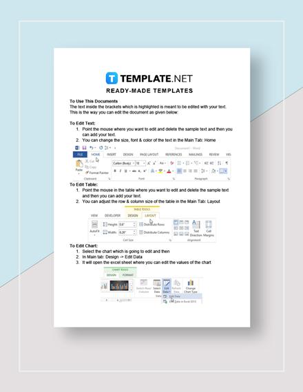 Stock Tracking Spreadsheet Instructions