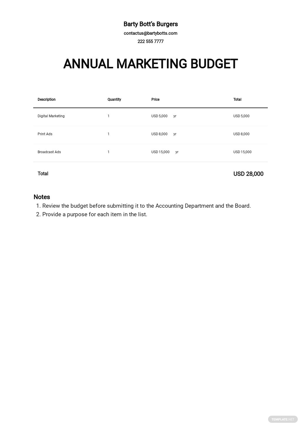 Annual Marketing Budget Template.jpe