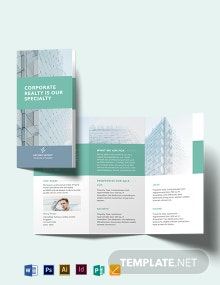Home Owners Association Tri-Fold Brochure Template